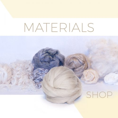 Material for felting